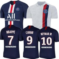 19 20 Top quality psg 3rd blue home away Champion black whit...