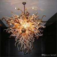 Лучшие стекла Люстра Продавец Подвесной LED Художественное освещение Home Hotel Bar Украшение выдувного стекла Art Design Люстра для продажи