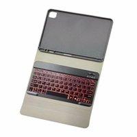 جديد 2020 لباد برو 11 حالة بلوتوث لوحة المفاتيح مع قلم رصاص حامل الخلفية لوحة المفاتيح لعام 2020 باد برو 11 جلد لاسلكي الغلاف