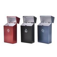 Heißes neues Ankunfts-Plastik Zigaretten-Etui (Halten 20 Zigaretten) Tragbare Personality King Size Zigarettenschachtel