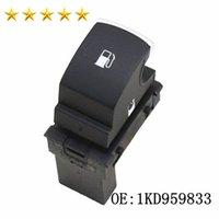 Couleur Noir 3PIN Fuel Gas porte Interrupteur de libération Bouton 1KD959833 J Etta G OLF 5 MK5 1KD959833 voiture Commutateurs de haute qualité Auto Parts