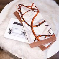 2020 NOUVEAU Mode Top Silk Foulard Foulard Mesdames Soft Super Long Long Long Long Long Luxe Châle Spring Fashion Écharpes imprimées