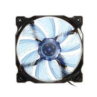 Freeshipping 3-контактный / 4-контактный PWM управления 120 мм 1000 об / мин LED PC вентилятор охлаждения процессора Case черный