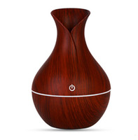 Essential humidifier aroma oil diffuser Wood Grain ultrasoni...
