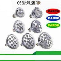 Dim Led ampul par38 par30 PAR20 9 W 10W 14W 18W 24W 30W E27 20 30 38 LED Aydınlatma Spot Işık ışık downlight par