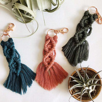 Personalized Newest Creative Irregular Tassel Bohemian keych...