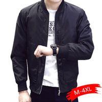 Мужские куртки 2021 Куртка Мужчины Повседневная бейсбольная Весна Осень Мода Slim Fit Тонкая Бренд Пальто высокого качества