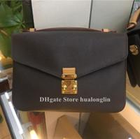 Fashion Woman Bag Handtasche Schultertasche Messenger Cross Body-Taschengeldbörse Leder Datumscode Blume