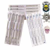 5 pcs Tattoo Needles 1 3 5 7 9 11 13RL Assorted Sterilized Tattoo Machine Needles Free Shipping CE high quality