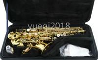 Yeni Varış Yanagisawa W010 Pirinç Altın Lake Soprano Saksafon B Düz Enstrüman Sax Durumda Ücretsiz Nakliye ile