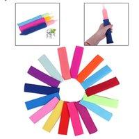 Eis am Stiel Sleeves Stieleis Tasche Eis am Stiel-Halter Pop Ice Sleeves Gefrierschrank Pop-Halter-Kind-Sommer-Küche-Werkzeuge YYA37