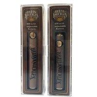 황동 너클 예열 vape 배터리 650mAh USB 충전기가있는 900mAh 가변 전압 펜 배터리 510 스레드 350mAh Max Spinner 3S 트위스트 박스 모드