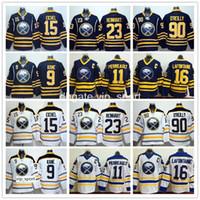 Buz Hokeyi Buffalo Sabres Formaları 15 Jack Eichel 90 Ryan O'Reilly 9 Evander Kane Sam Reinhart 11 Gilbert Perreault 16 Pat LaFontaine