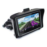 """GS-4301 4.3 """"شاشة لمس مقاوم للماء للدراجات النارية سيارة الملاحة GPS NAV 8GB بلوتوث مع أمريكا خريطة"""