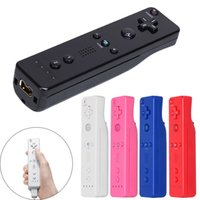 Multicolor Wireless Gamepad for Wii Remote Controller Joystick Game Pad For  Wii Game Remote Control with Silicone Case