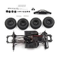 Aktualisieren von Parts Metal Frame Chassis für SCX10 II 1/10 Rock Crawler Klettern RC Auto Fahrzeugmodelle Teile mit 540 Motor