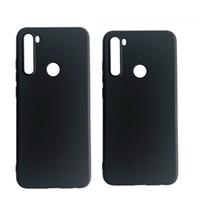 Xiaomi CC9 CC9E 9 9SE 8 8SE 8 LITE MIX3 MIX2S redmi 7 K20 7A NOT 7 redmi GİT 100PCS / LOT için Siyah Mat Yumuşak TPU Kılıfı