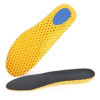 Hombres Mujeres EVA Calzado Deportivo Plantillas Desodorante Absorción de Choque Athletic Insert Pad Almohadilla Transpirable Corriendo Cojín