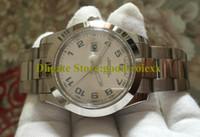 41mm Męski Mechaniczny Asia Zegarki Sapphire 116300 Mężczyźni Niebieski Srebrny Arabski Gładki Wezel Date Watch 116334 Perpetual Bransoletki Zegarki