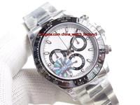 8 estilo vendedor caliente Movimiento mejor de calidad superior CAL.4130 40mm Cosmograph reloj de los relojes 116506 116520 116500 cronógrafo Workin Mens automático