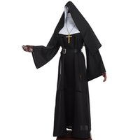 The Virgin Mary Costume Cosplay Catholic Nun Robes Clothing ...
