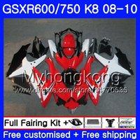 Körperleuchte schwarz Für SUZUKI GSX-R600 GSXR 750 600 600CC GSXR600 08 09 10 297HM.11 GSX R600 R750 GSX-R750 K8 GSXR750 2009 2010