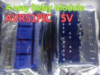 1 قطعة تتابع وحدة التتابع لمدة 4 اتجاهات وحدة التوسع 5 فولت مع عزل Optocoupler دعم AVR51PIC مؤشر مؤشر