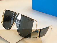 Erkekler ve Kadınlar için Güneş Gözlüğü Yaz Tarzı 100103 Anti-Ultraviyole Retro Düzensiz Plaka Tam Çerçeve Moda Gözlükler Rastgele Kutu