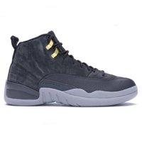 Erkek 12 12s Basketbol Ayakkabı Sunrise Fiba Ters Taksi Gribi Oyunu Usta Çin Yeni Yılı Hiper yeşim kurt Gri Kadınlar 2020 Zapatos Sneakers