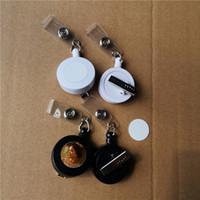 التسامي فارغة قابل للسحب الحبل اسم العلامة بطاقة شارة حامل المعادن كليب سهلة الاستخدام الساخنة الطباعة نقل المواد الطباعة حجم 20 ملليمتر