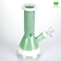 Glass Water Pipe 18mm Female Joint 200mm Tall Heady Oil Rig ...