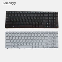 Russian keyboard for Asus K52 k53s X61 N61 G60 G51 MP- 09Q33S...