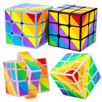 Unequal Magic Cube Puzzle Magic Game Toys Adult Children Col...