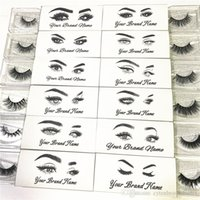 Customized Logo and Designs for New Eyelash Private Sticker ...