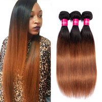 Charmingqueen Malaysian hair bundles Ombre 1b 30 Unprocessed...