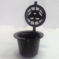 إعادة الملء القهوة كبسولة كوب قابلة لإعادة الاستخدام مرشح آلة نسبرسو قابلة لإعادة الاستخدام كبسولات القهوة نسكافيه كأس ZHL4151
