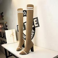 über dem knie stiefel sexy stiefel cuissardes sexy krallen hauts sexy hautes schuhe frau zapatos de mujer chaussures femme zapatillas mujer