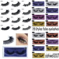 Mink Lashes 3D Mink False Eyelashes Long Lasting Lashes Natu...