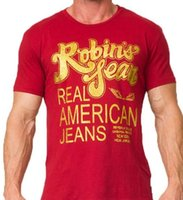 2019 The United States Robin Jeans Mens T shirts tide brand ...