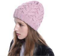 Holiday Gift Christmas Adult Beautiful Coarse Wool Twist Hat...