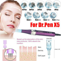 Agulha de substituição Dren X5 9/12/36/42 Pin Nano Micro Agulhas Cartucho Para Dr Derma Caneta Auto Microneedle Sistema
