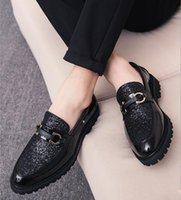 Erkekler Biçimsel İş Ayakkabıları Lüks Erkek Modası Ayakkabı Erkek Casual Gerçek Deri Düğün Loafers Stilist ayakkabı