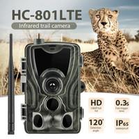 HC801LTE 4G 트레일 카메라 Hc801M / G 2 / 3G 사냥 카메라 1080P 사진 트랩 적외선 나이트 비전 와일드 캠 헌터 스카우트 샤쓰 T191016