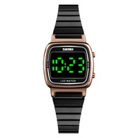 Women Digital Watch LED Light Display Watch Womens Waterproo...