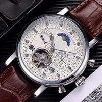 Мода кожаные часы мужские наручные часы мужские механические автоматические движения стальные часы Relogio Masculino часы наручные часы