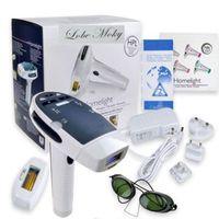 A máquina home da remoção do cabelo do laser do uso vem com o IPL dois Elpilator para o rejuvenescimento permanente 3006107 do rejuvenescimento da pele da remoção do cabelo