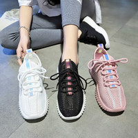 2019 new summer tenis feminino lace- up shoes woman female sh...