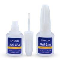 NA048 10G del pegamento del clavo de secado rápido para LED UV Rhinestone de manicura / Uñas de acrílico cristalino herramienta del arte del clavo de la hoja de monómero líquido pegamento