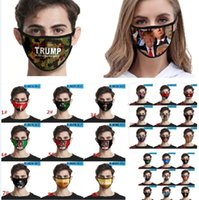 2020 Trump Pattern Face Mask Anti Dustproof Printing Ice Sil...