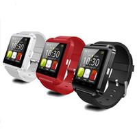 Оригинал U8 Смарт Часы Bluetooth Электронные Смарт Часы наручные для Apple IOS Часы Android смартфон Часы PK GT08 DZ09 A1 M26 T8